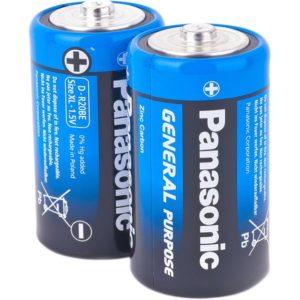 Батарейка PANASONIC R20 Standart (D)