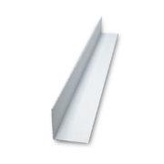 Уголок пласт. 20*20*2.7 м белый