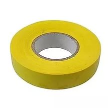 Изолента желтая 19мм*25м