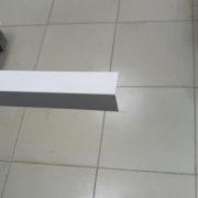 Уголок 2 х 2 белый 3 метра