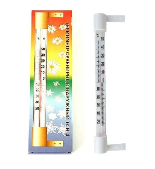Термометр на гвоздиках