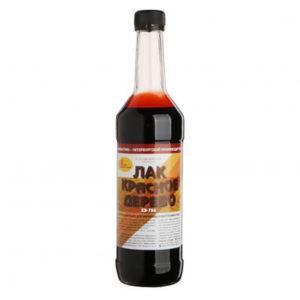 лак в бутылке хв красное дерево