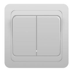 Выключатель Classic 2-ной белый