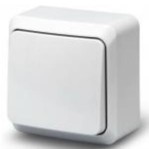 Выключатель Fazenda 1-ный белый