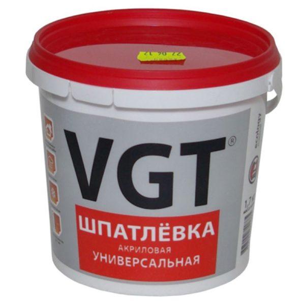 Шпаклевка 1.7кг универсальная ВГТ