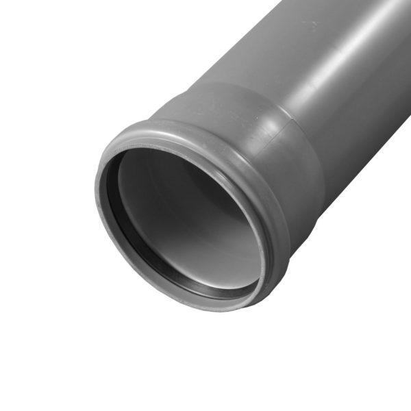 труба серая для канализации 110 мм