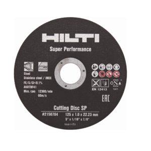 hilty отрезной диск 125х1 мм