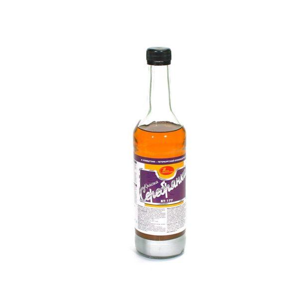серебрянка в бутылке