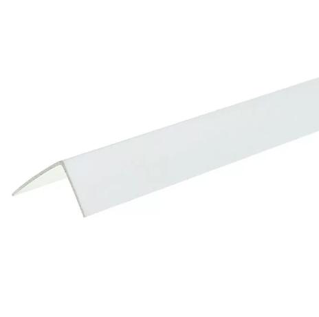 уголок пластиковый белый