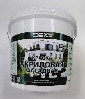 краска фасадная 6 кг